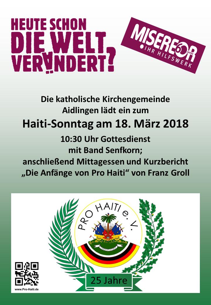 Pro Haiti - Aktuell